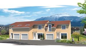 maisons neuves voiron les villas de la sure a2c constructions. Black Bedroom Furniture Sets. Home Design Ideas