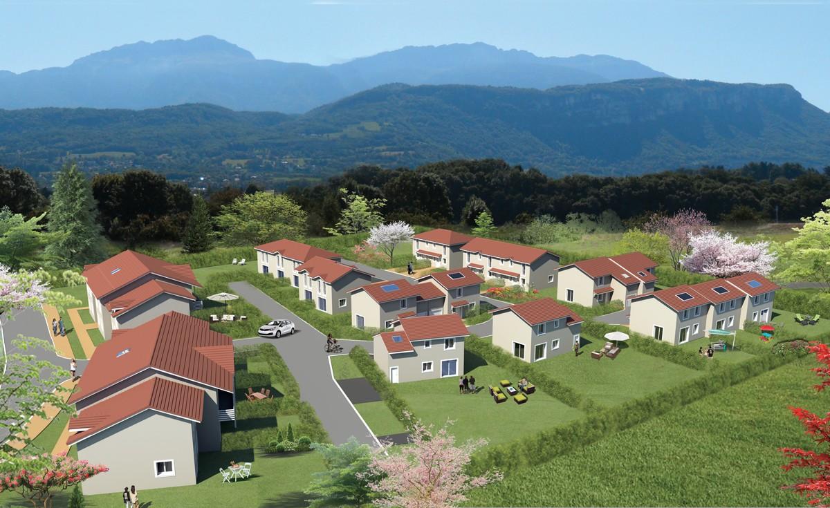 maisons neuves à vendre quartier du criel à Voiron